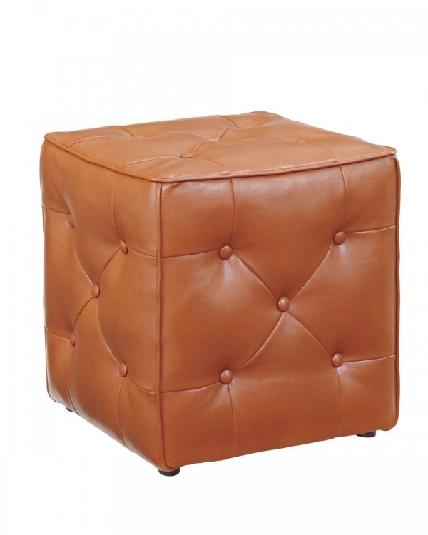 Jive Accent Ottoman - Orange