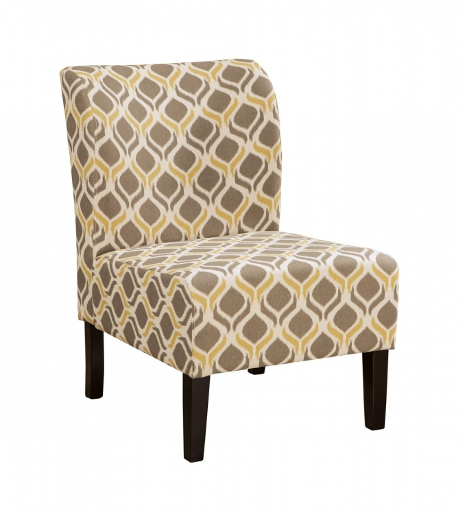 Honnally Accent Chair - Gunmetal