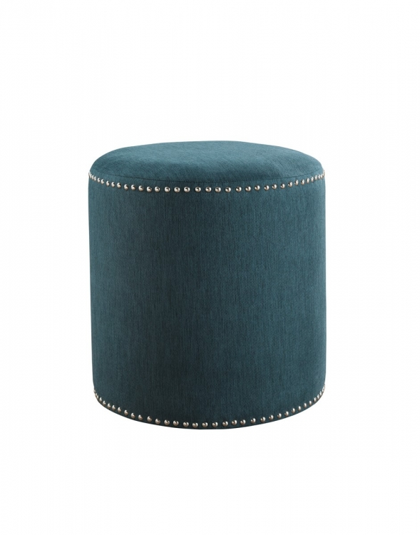 Revel Accent Ottoman - Teal