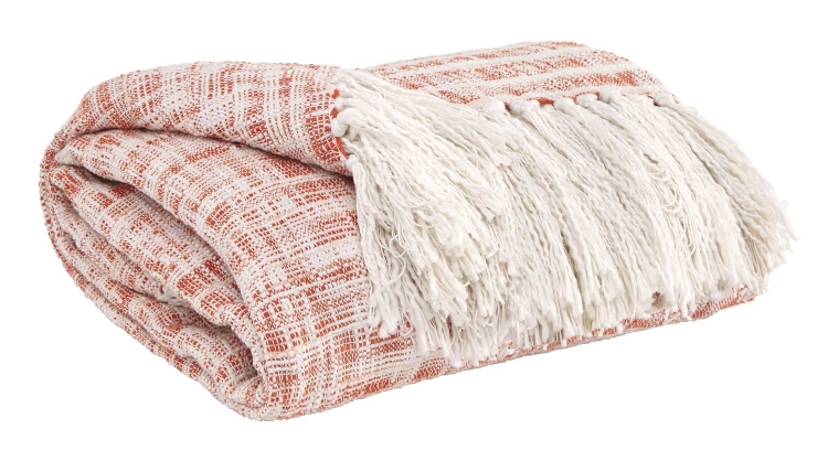 Cassbab Throw - Set of 3 - Coral