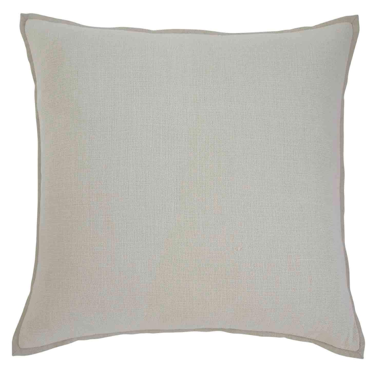 Solid Pillow Cover - Set of 4 - Ecru