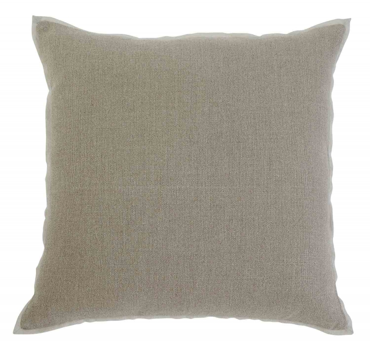 Solid Pillow Cover - Set of 4 - Khaki