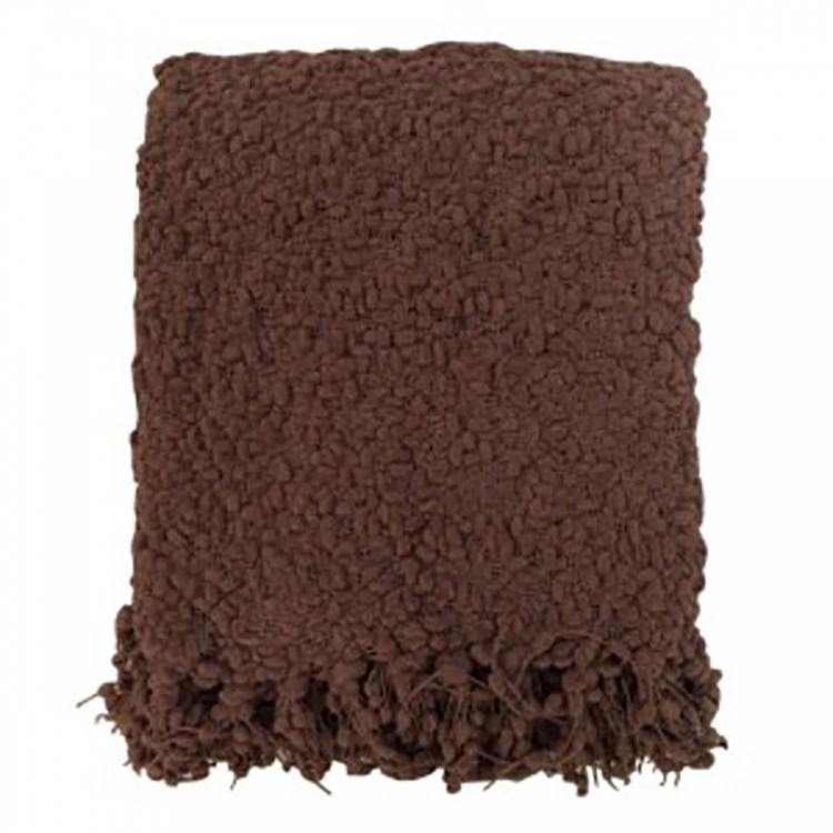 Araminta Throw - Set of 2 - Brown