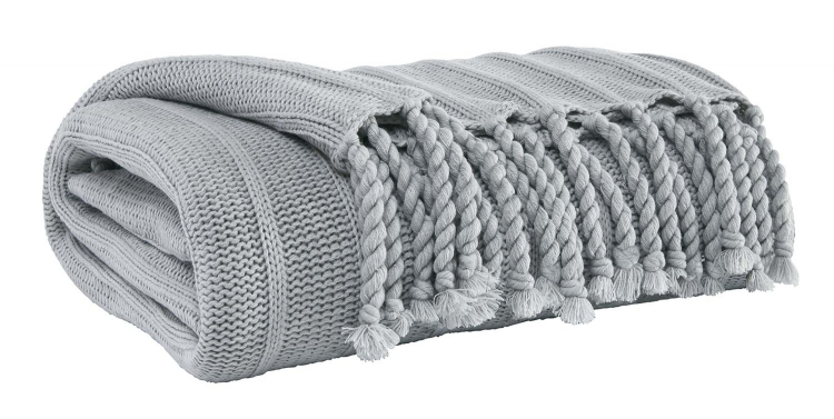 Clarence Throw - Set of 3 - Light Gray