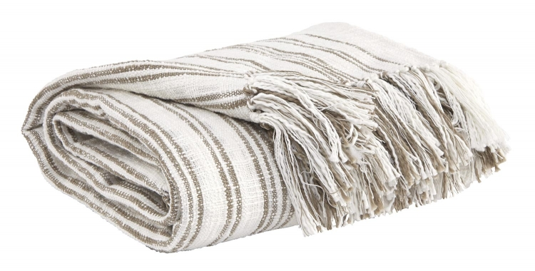 Callumn Throw - Set of 3 - Beige