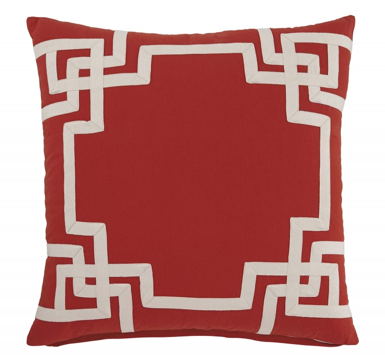 Vassal Pillow Cover - Coral