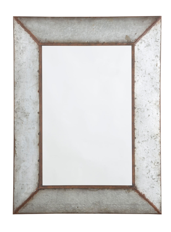 O'Tallay Accent Mirror - Antique Gray