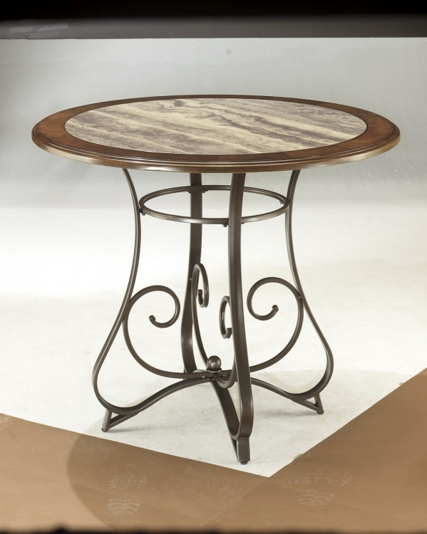 Hopstand Round Counter Height Table