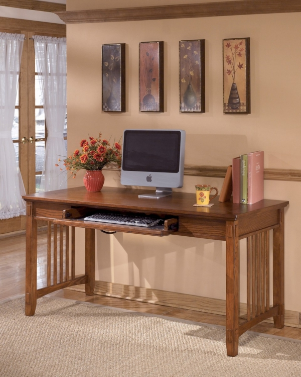 Cross Island Home Office Large Leg Desk
