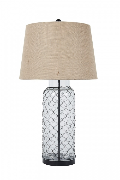 Sharmayne Glass Table Lamp