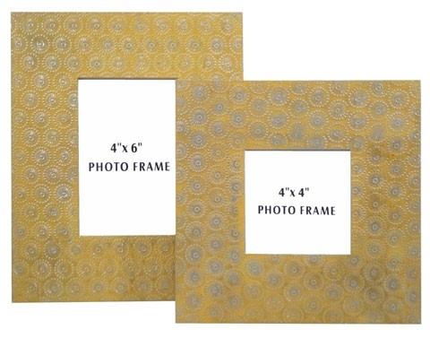 Bansi Photo Frame - Set of 2 - Yellow