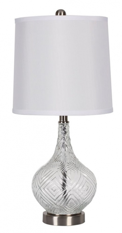 Stef Glass Table Lamp - Set of 2