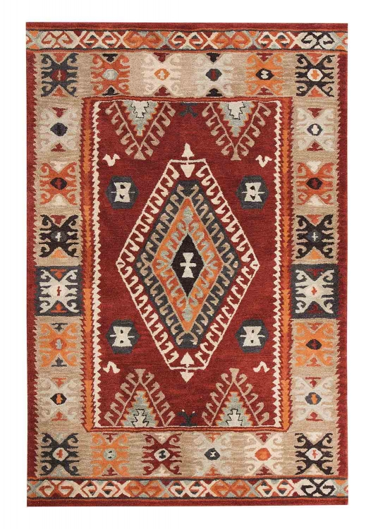 Oisin Medium Rug - Brick
