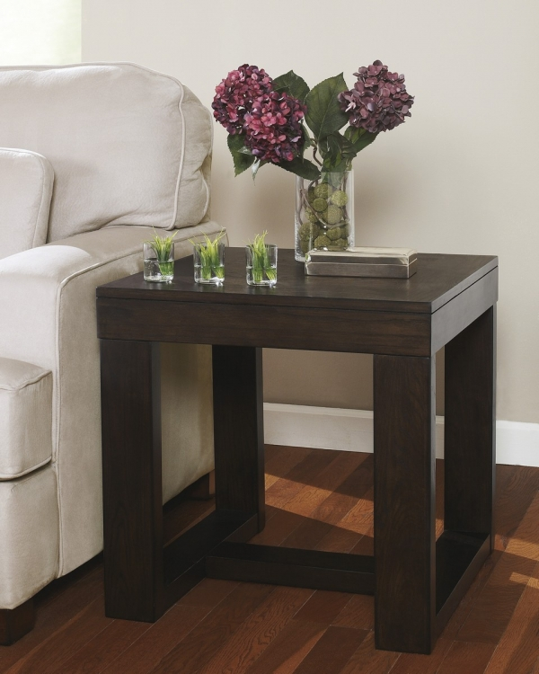 Home Styles Mission Style Convertible Sofa Table Buffet