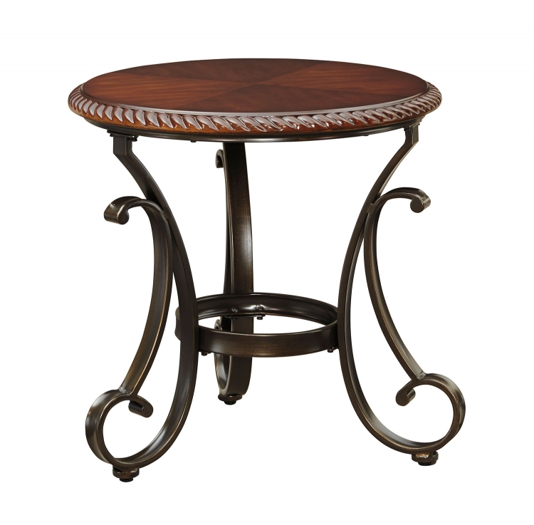 Gambrey Round End Table