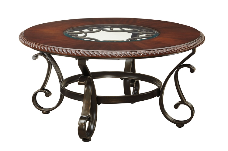 Gambrey Round Cocktail Table