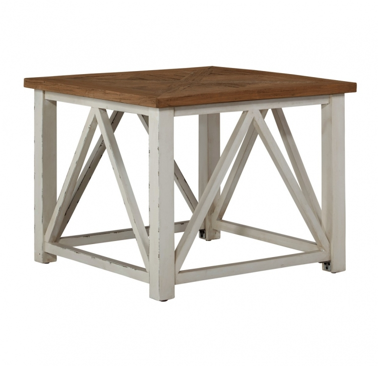 Marshone Square End Table