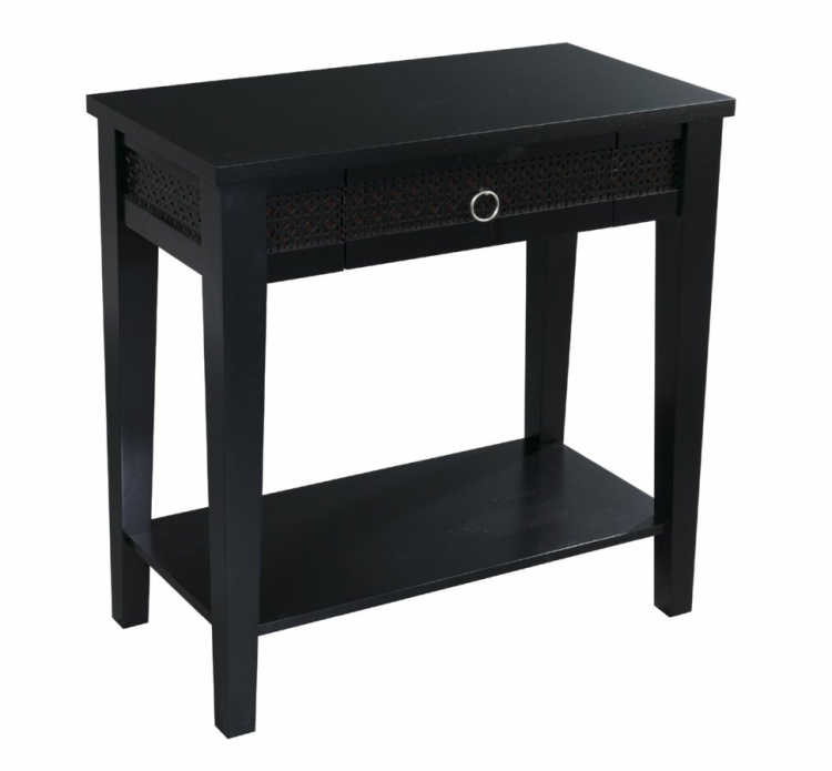 Banyan Foyer Table - Black - Avenue Six