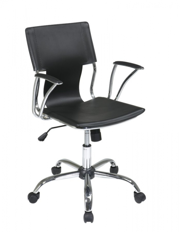 Dorado Office Chair - Black - Avenue Six