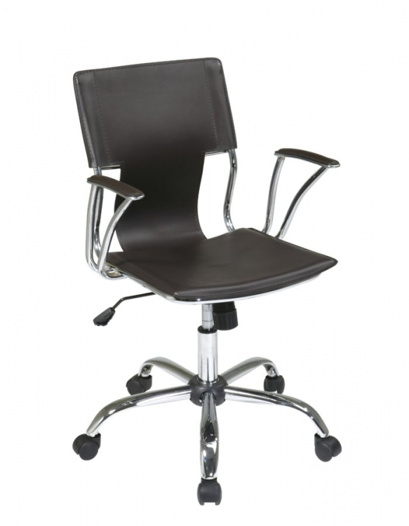 Dorado Office Chair - Espresso - Avenue Six