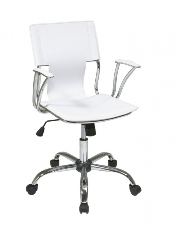Dorado Office Chair - White - Avenue Six