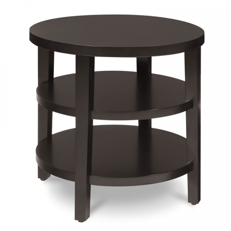 Merge Round End Table - Avenue Six