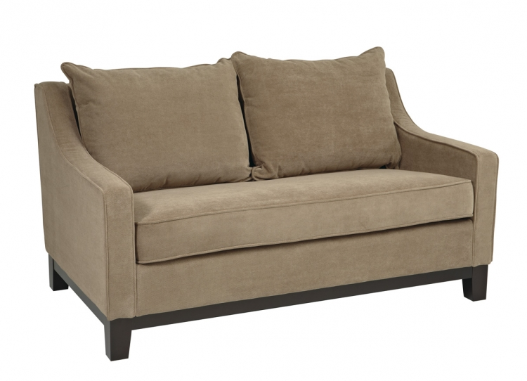 Regent Love Seat - Easy Brownstone - Avenue Six