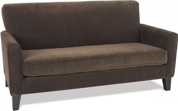 Sierra Loveseat - Corduroy Coffee - Avenue Six