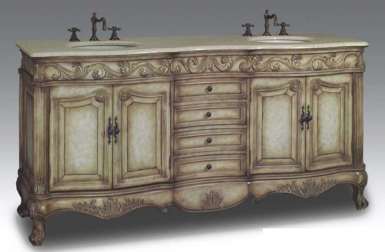 Dartford Vanity with sink-Dragon Wood