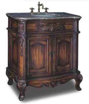 Aldridge Vanity with sink-Dragon Wood