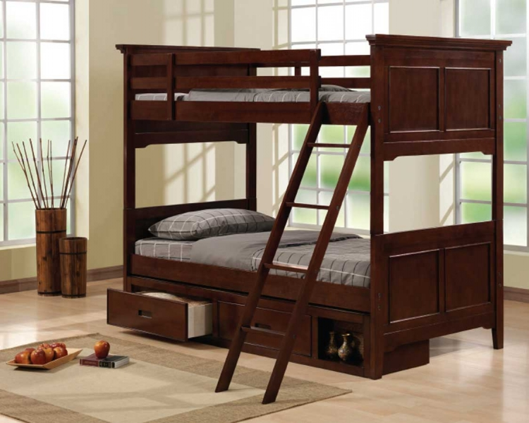 Jordan Bunk Bed - Homelegance