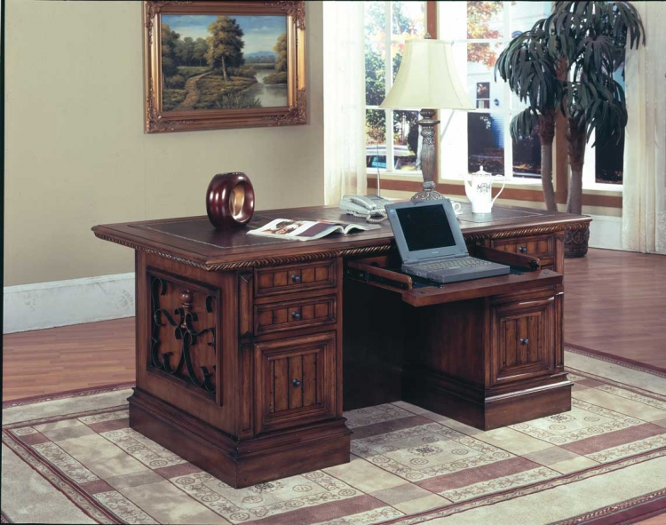 Barcelona Library Executive Desk-Parker House