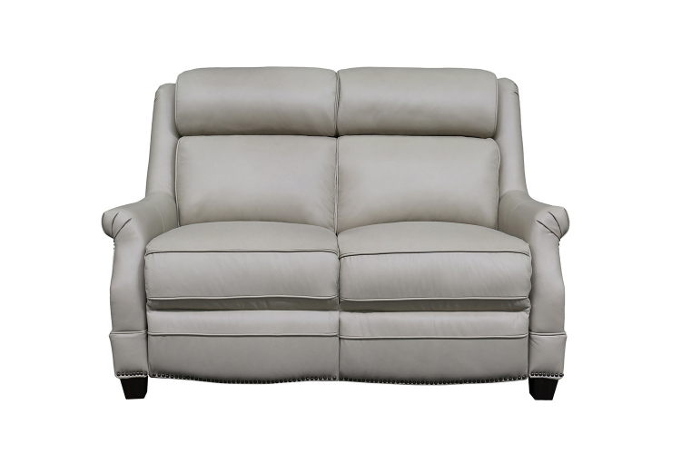 Warrendale Power Reclining Loveseat with Power Head Rests - Shoreham Cream/All Leather