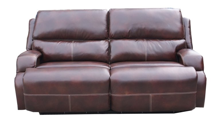 Chandler ll Casual Comforts Reclining Power Sofa - Mocha - Barcalounger