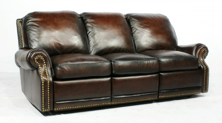 Premier ll Vintage Reserve Reclining Sofa - Stetson Coffee