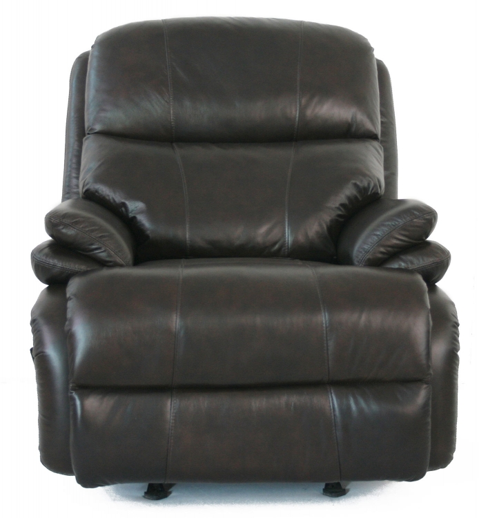 Affinity ll Casual Comfort Leather Recliner - Chocolate