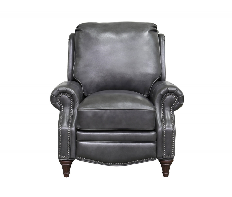 Avery Recliner Chair - Wrenn Gray/all leather