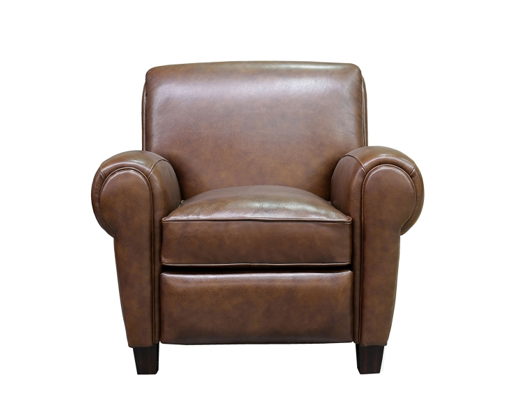 Edwin Recliner Chair - Wenlock Double Chocolate/All Leather