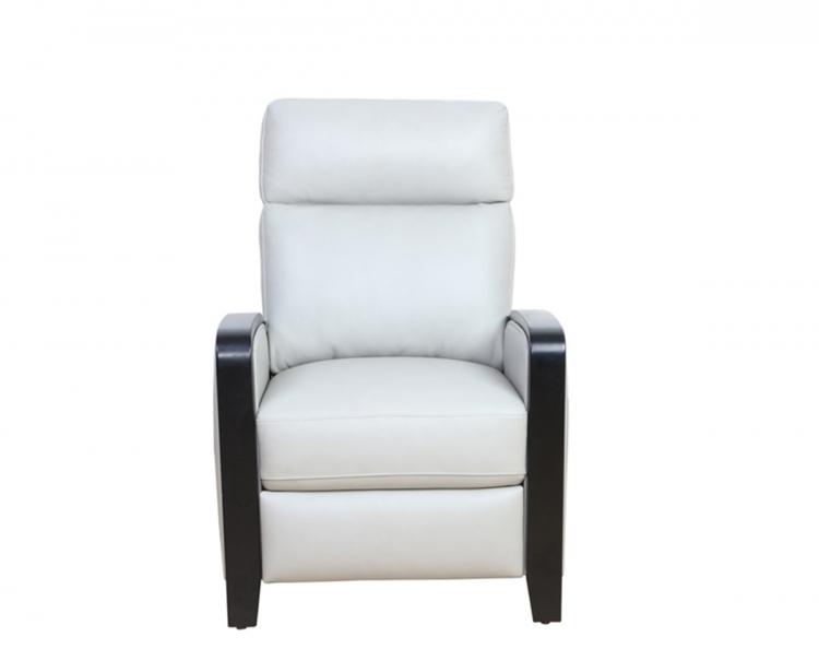 Radcliffe Recliner Chair - Gable Dove/leather match
