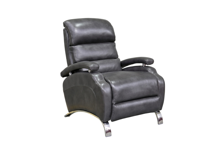 Giovanni Recliner Chair - Wrenn Gray/all leather