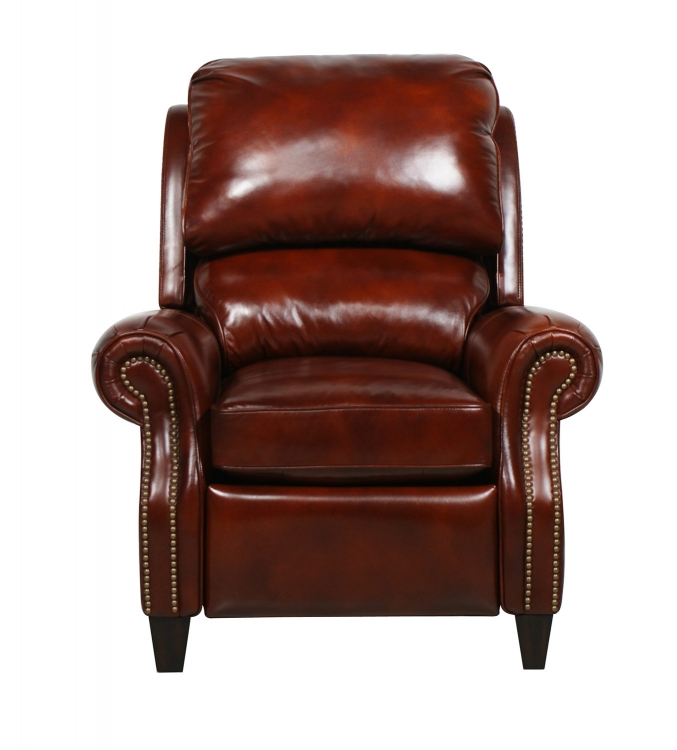 Churchill ll Vintage Reserve Leather Recliner - Burl