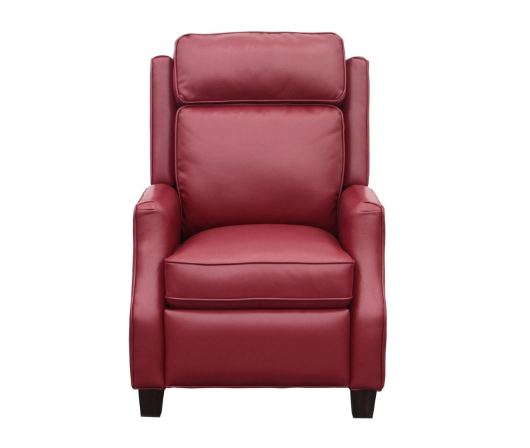 Nixon Recliner Chair - Blanche Fire Red performance fabric