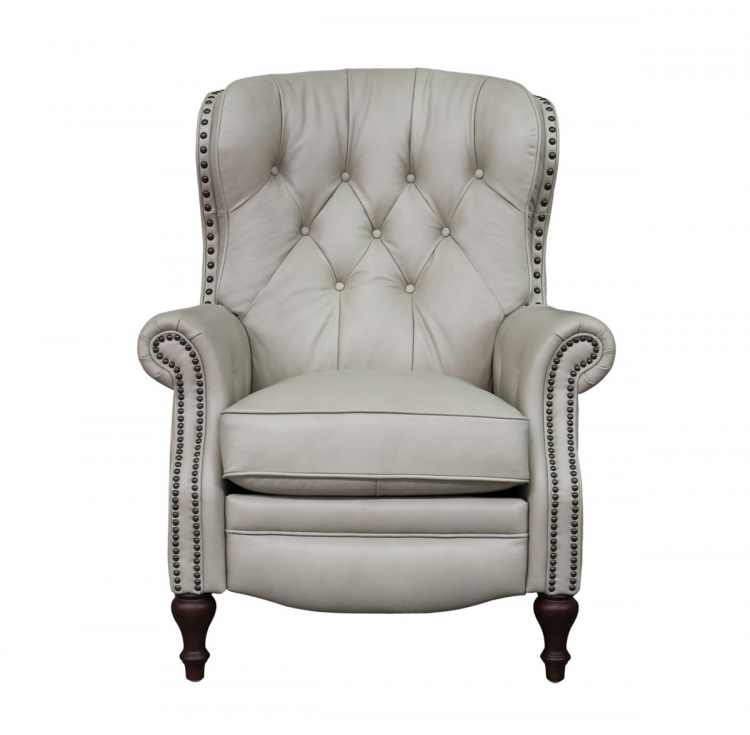 Kendall Recliner Chair - Shoreham Cream/all leather