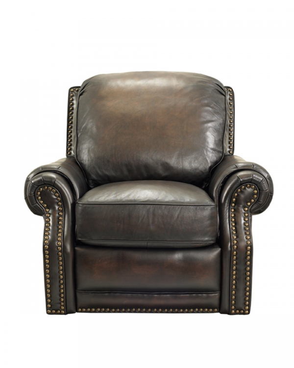 Premier Power Recliner Chair - Stetson Coffee/All Leather