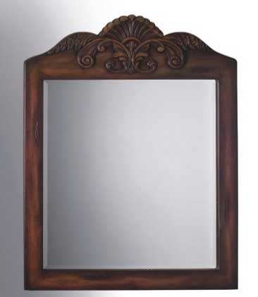 Walton Mirror Teak-Dragon Wood