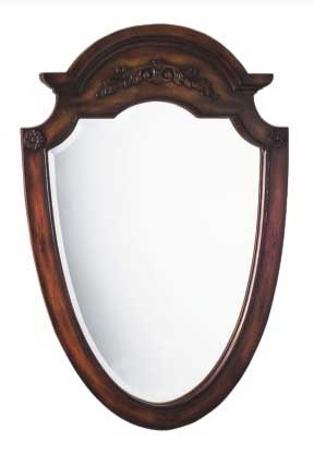 Manchester Mirror Teak-Dragon Wood