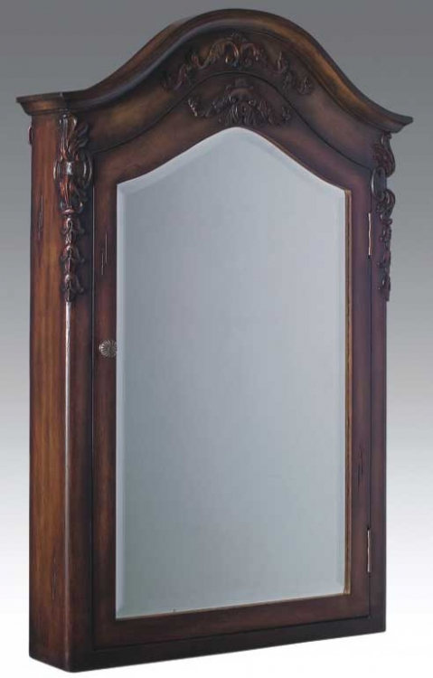 Ashton Medicine Cabinet Teak-Dragon Wood