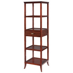 Tamara Tower in Cherry - Traditional Accents