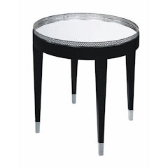 Black Tie Table - Traditional Accents