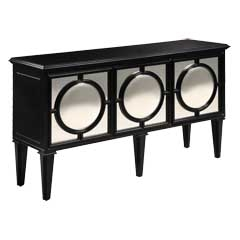 Mirage Ebony Sideboard - Traditional Accents